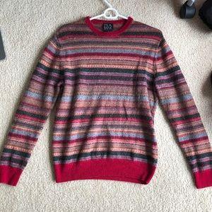 Vintage 80s 90s striped sweater unique